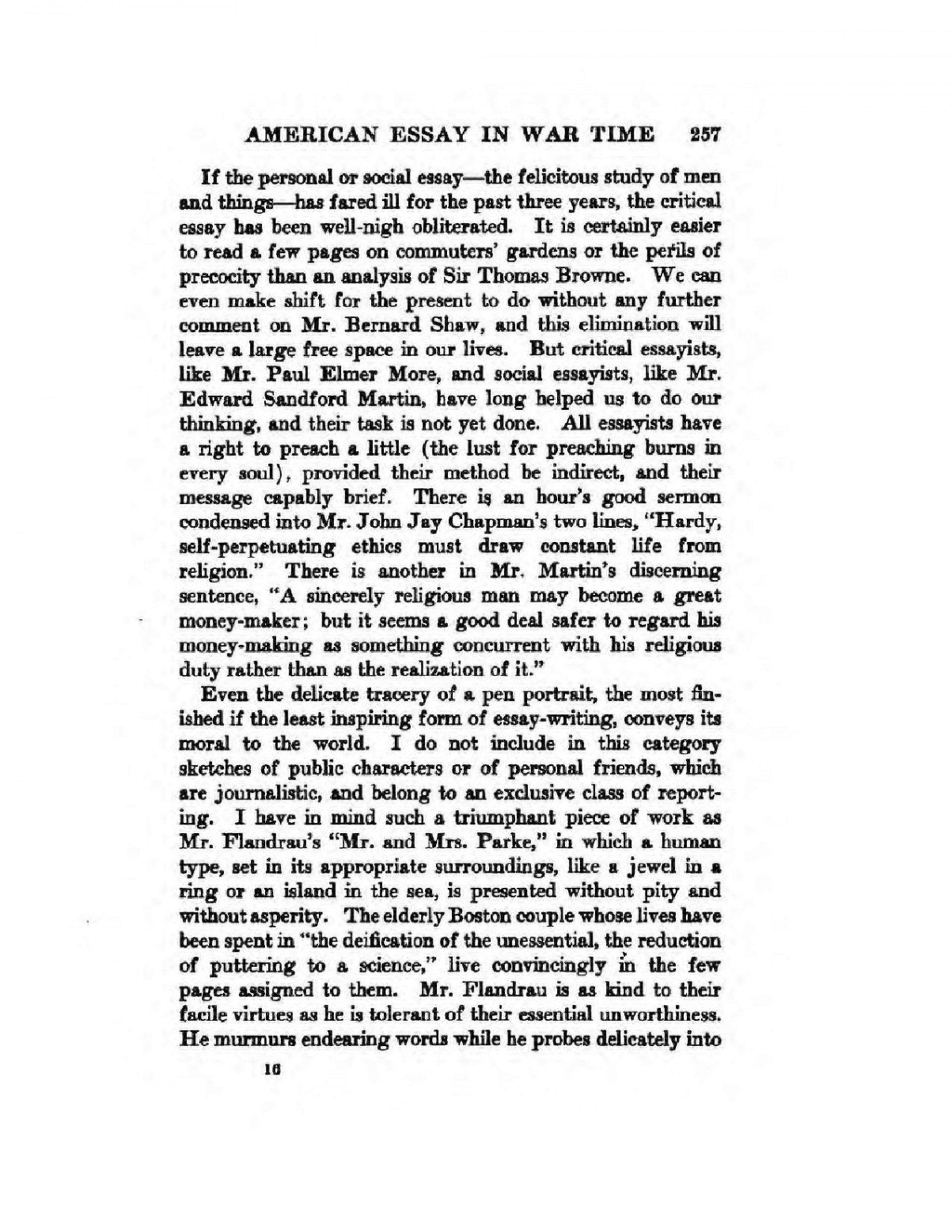 011 Essay Example Page9 1024px The In War Time2c Agnes Repplier2c 1918 Pdf What Is An Stupendous American Thesis Your Dream Ideas 1920