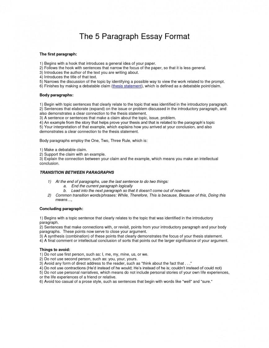 011 Essay Example Paragraph Outline Best Photos Of Format Write L Impressive 5 Five Template Pdf Argumentative 868
