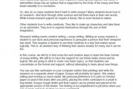 011 Essay Example Persuasive High School Ms Excerpt Frightening Short Sample Essays For Students