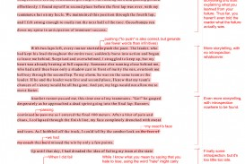 011 Essay Example Professor Revise My Quality Writing Feedback On Student Revision Examp Amazing Teaching College In French