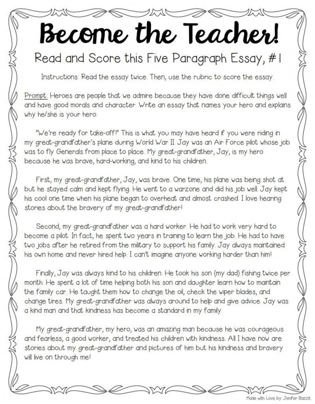 011 Essay Example Read My To Unique Me And Tell If It's Good Large