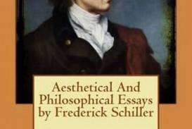 011 Essay Example Schiller Awful Essays Friedrich