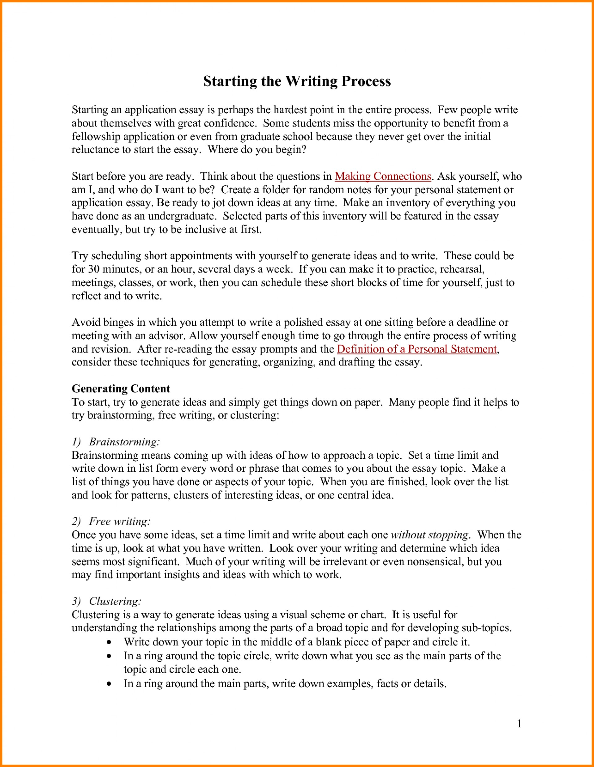 011 Essay Example Steps To Writing An About Yourself Things Write L Stunning 4th Grade Middle School Conclusion 1920