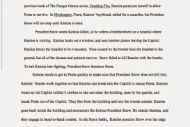 011 Essay Example The Hunger Games Book Review Imposing 320