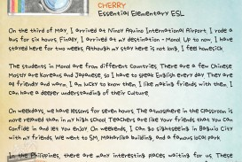 011 Essay Example Vacation Cherry Marvelous My Summer Sample In English For Class 1 Memorable