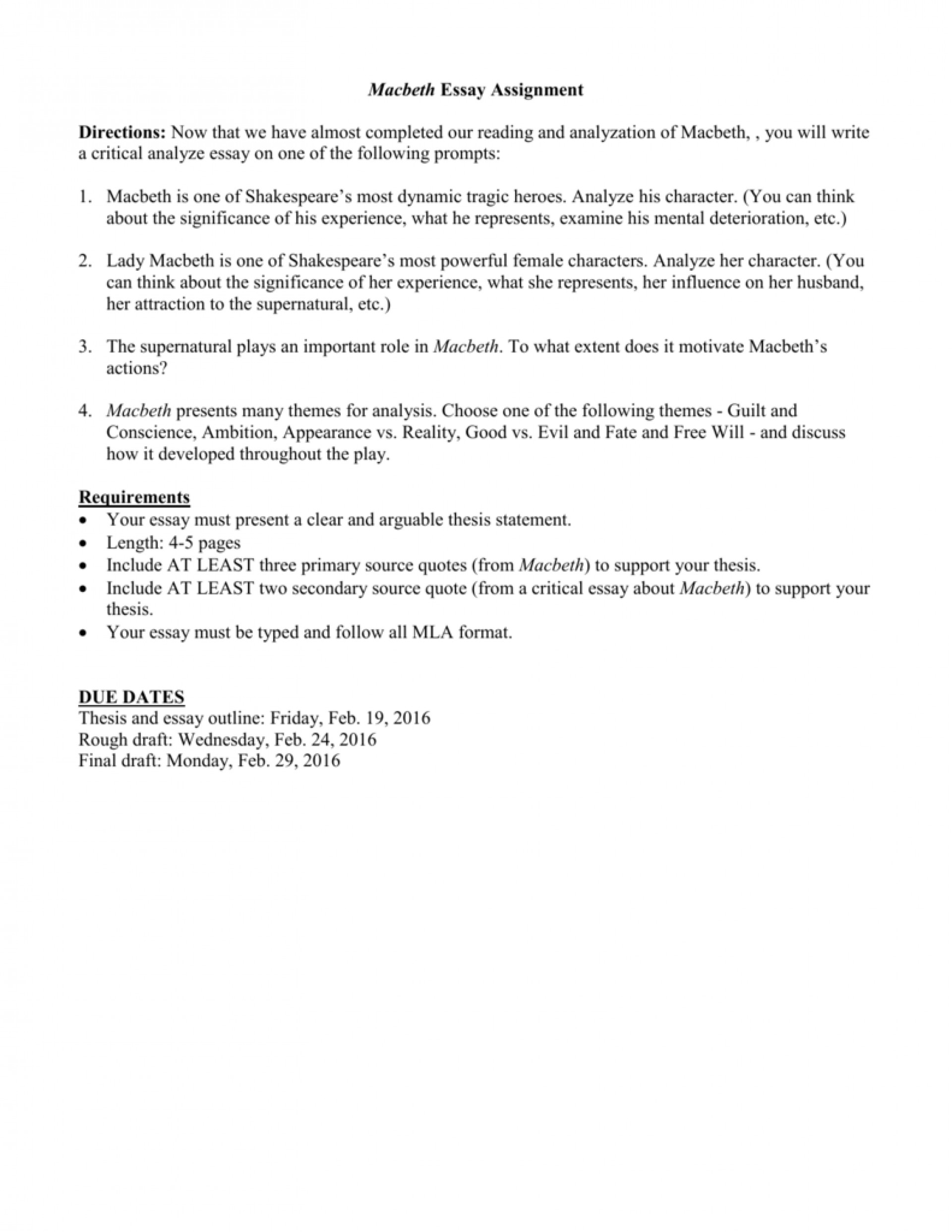 011 Essay On Macbeth Example 008018496 1 Marvelous And Lady Macbeth's Relationship Literary As A Tragic Hero Plan 1920
