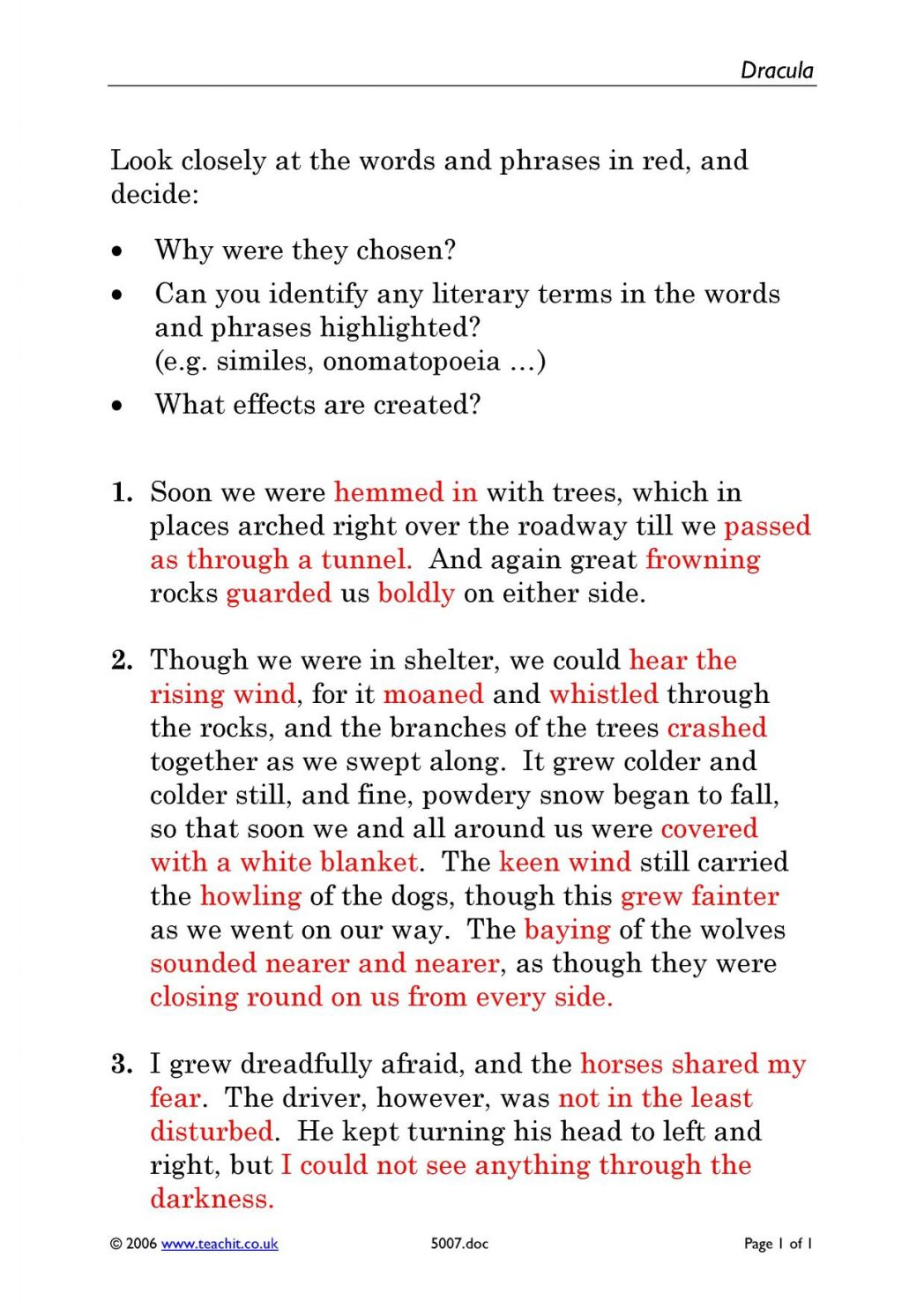 011 Essay On Stage Fear Dracula By Bram Stoker Ks4 Prose Key Resources Page Example Awful Write An Overcoming Full