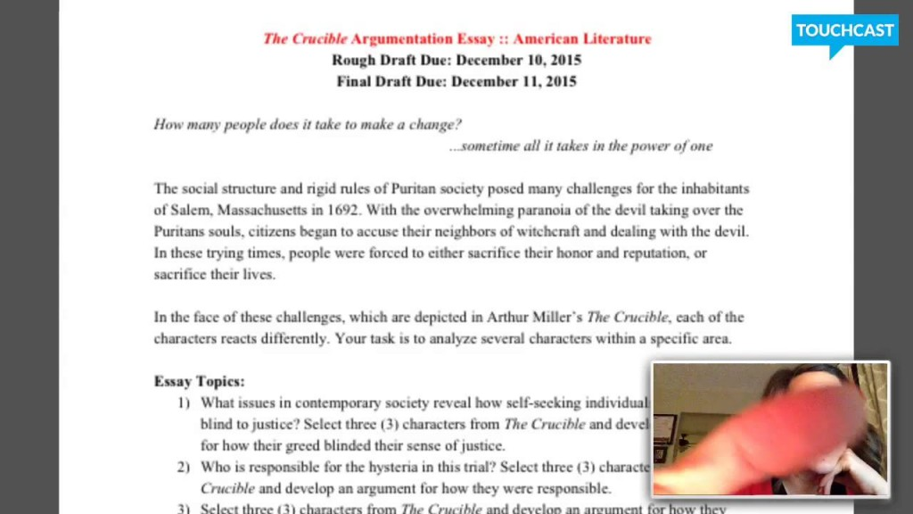 011 Essay On The Crucible Example Phenomenal And Red Scare Reputation Questions For Act 1 Large