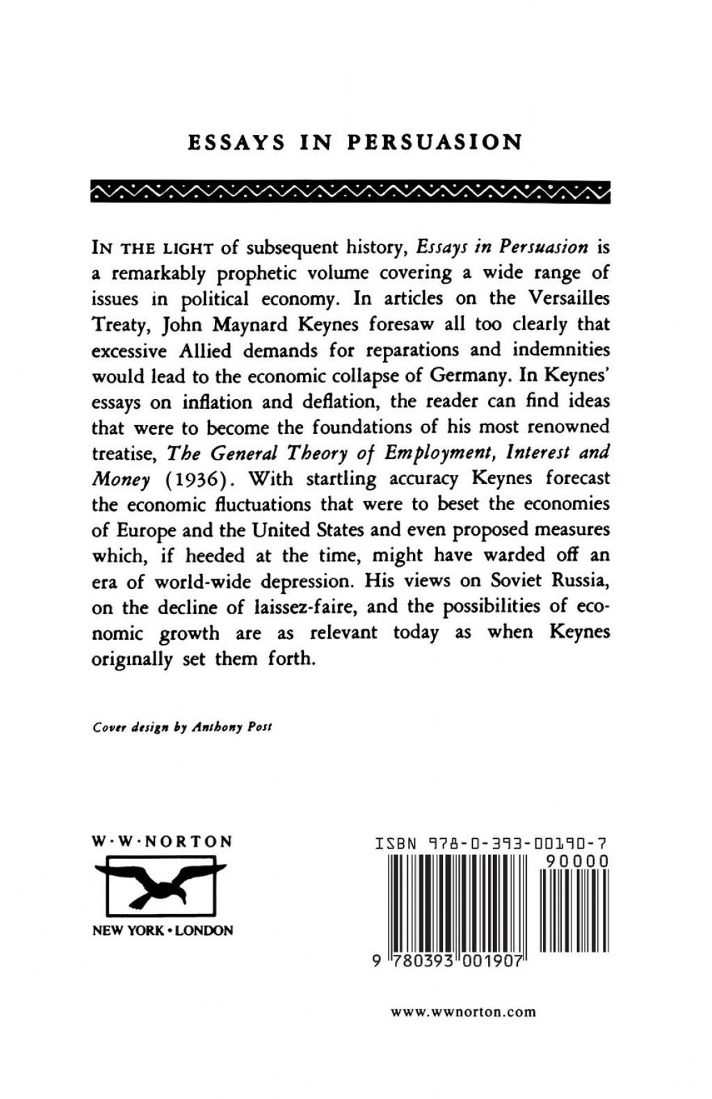 011 Essays In Persuasion 71ahgmsw 0l Essay Remarkable Audiobook Pdf John Maynard Keynes Summary Large