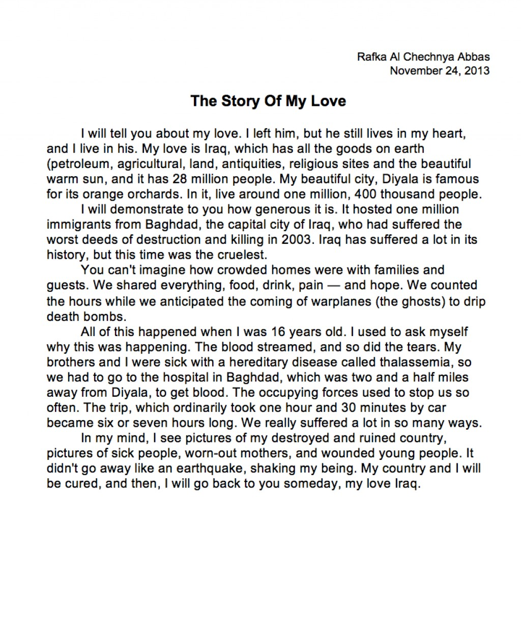 011 Essays On Love Essay Example Abbas Awesome At First Sight Arranged Marriage And Large