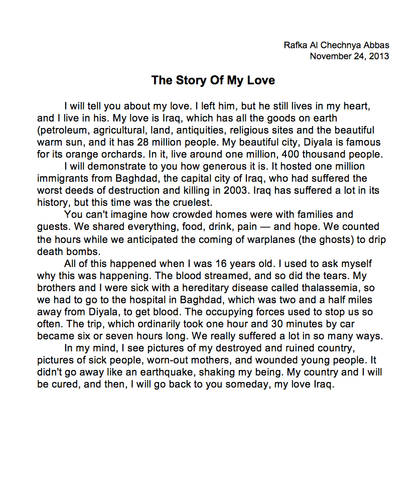 011 Essays On Love Essay Example Abbas Awesome At First Sight Arranged Marriage And Full