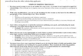 011 Fair Resumes For Scholarships In Scholarship Essay Sample Of Incredible Mara Personal Pdf