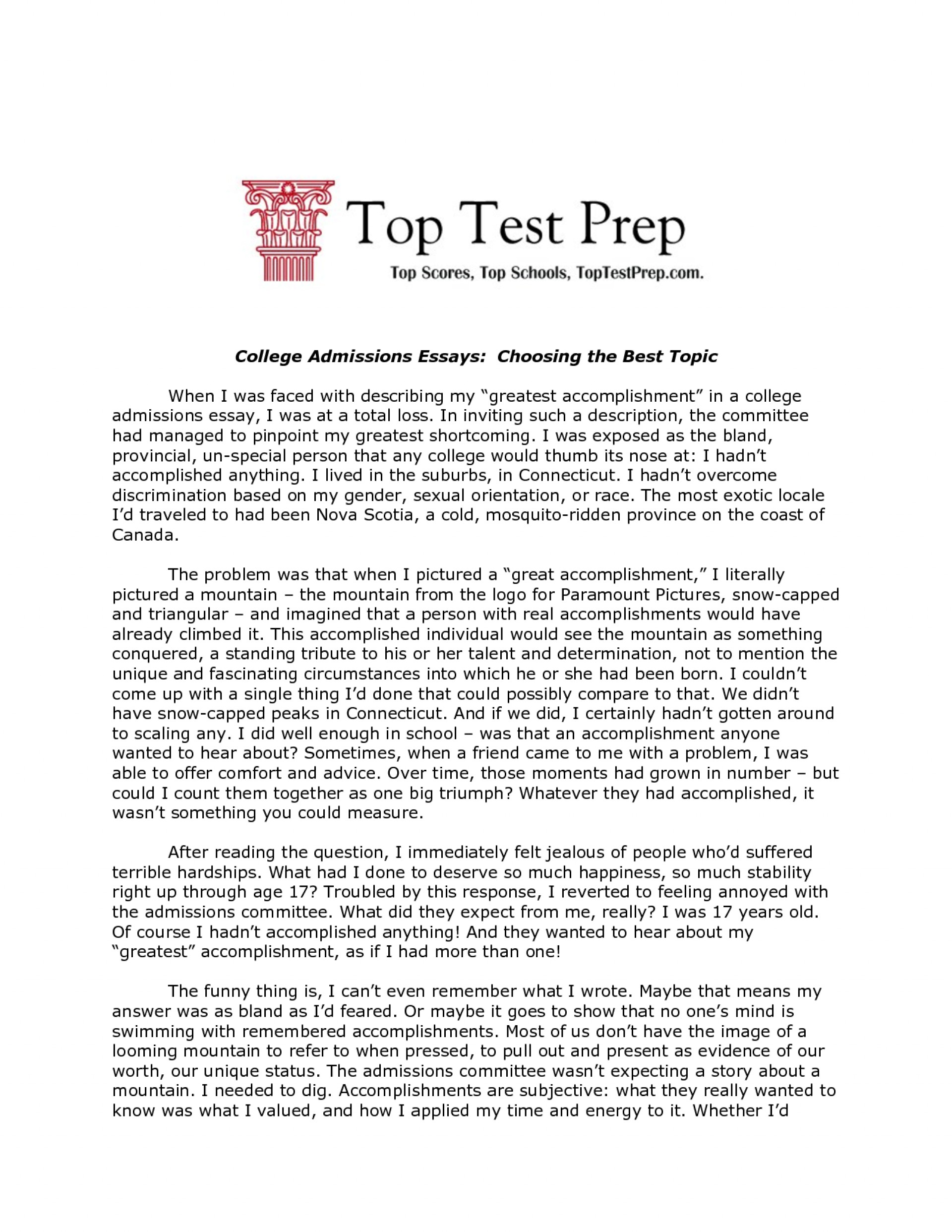 011 Fomb632cgz Best Essays Essay Breathtaking 2016 Personal College Australian 1920
