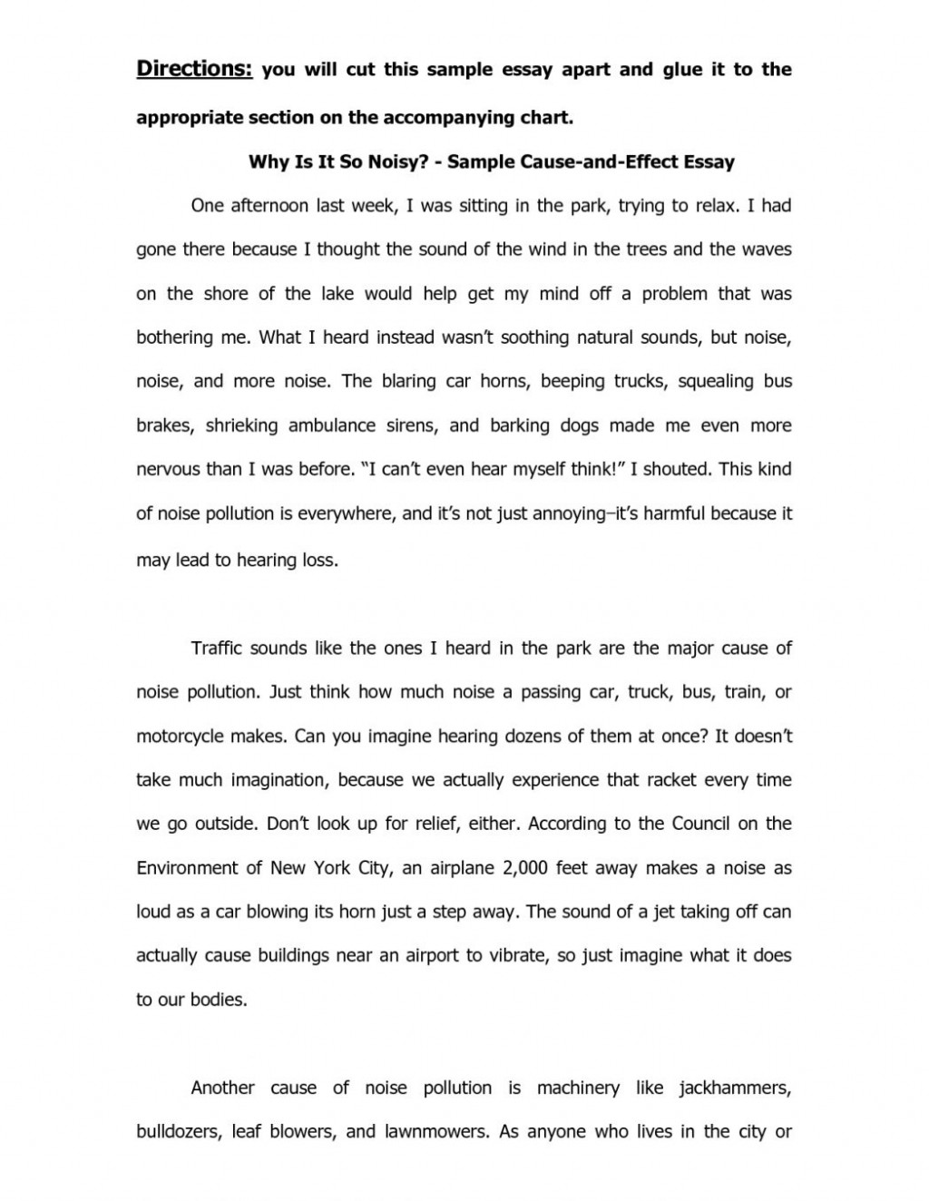 Cause And Effect Essay Template from www.thatsnotus.com