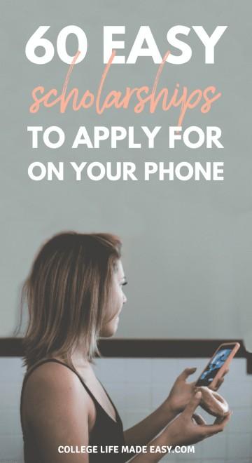 Online scholarship applications no essay