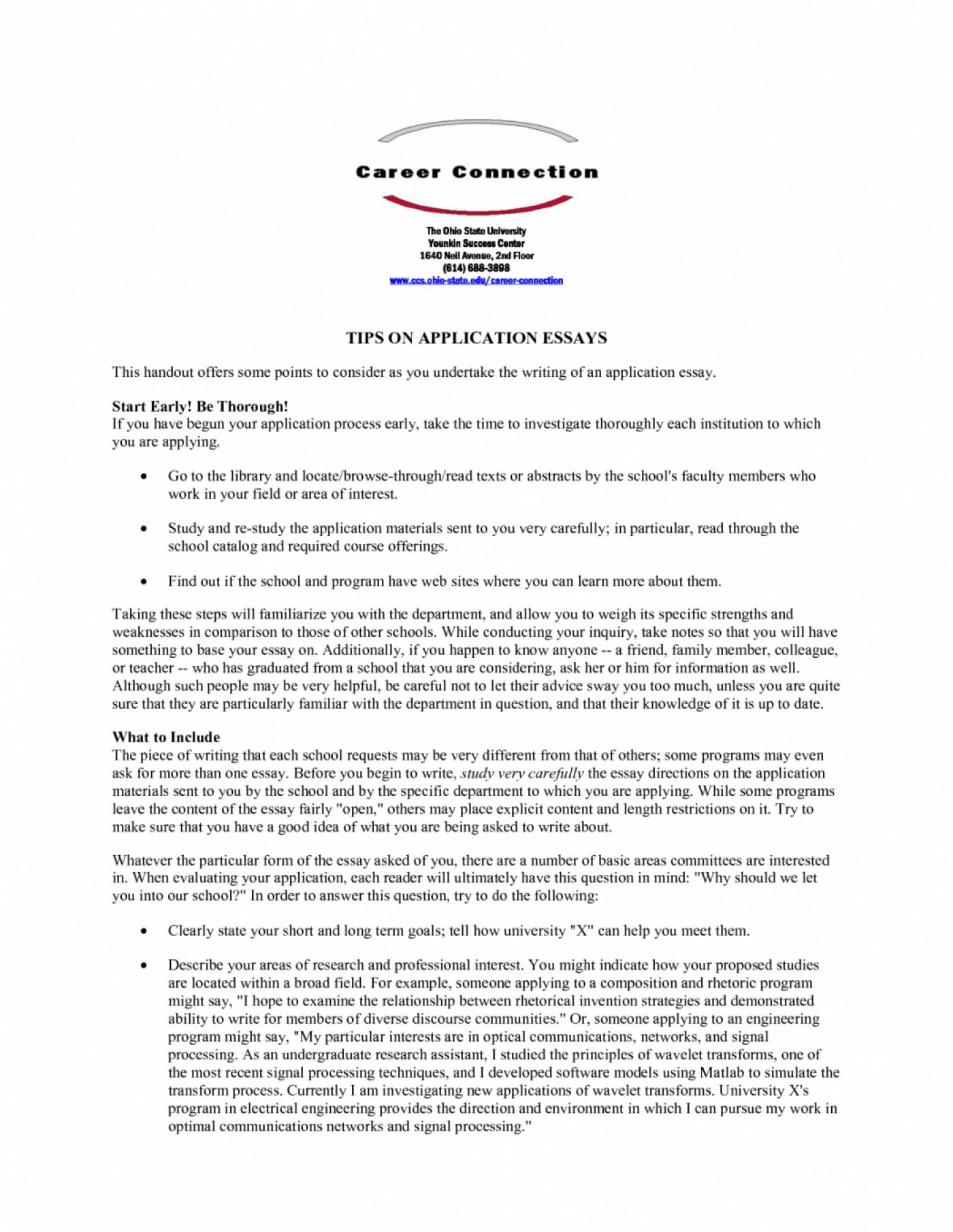 011 Fsu Essay Prompt Example Samples University Application Examples Sample Gb6xr Florida State Unique Care Program 1400