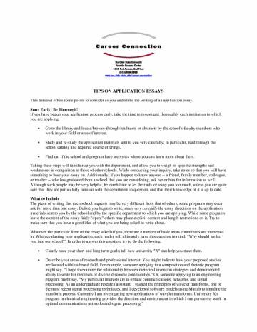 011 Fsu Essay Prompt Example Samples University Application Examples Sample Gb6xr Florida State Unique Care Program 360