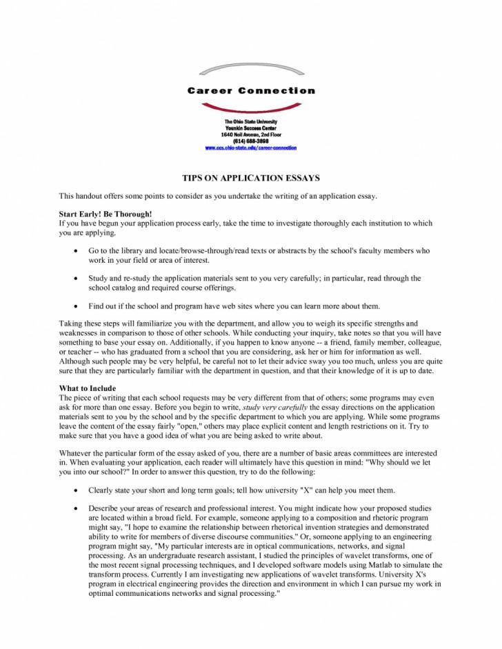 011 Fsu Essay Prompt Example Samples University Application Examples Sample Gb6xr Florida State Unique Care Program 728