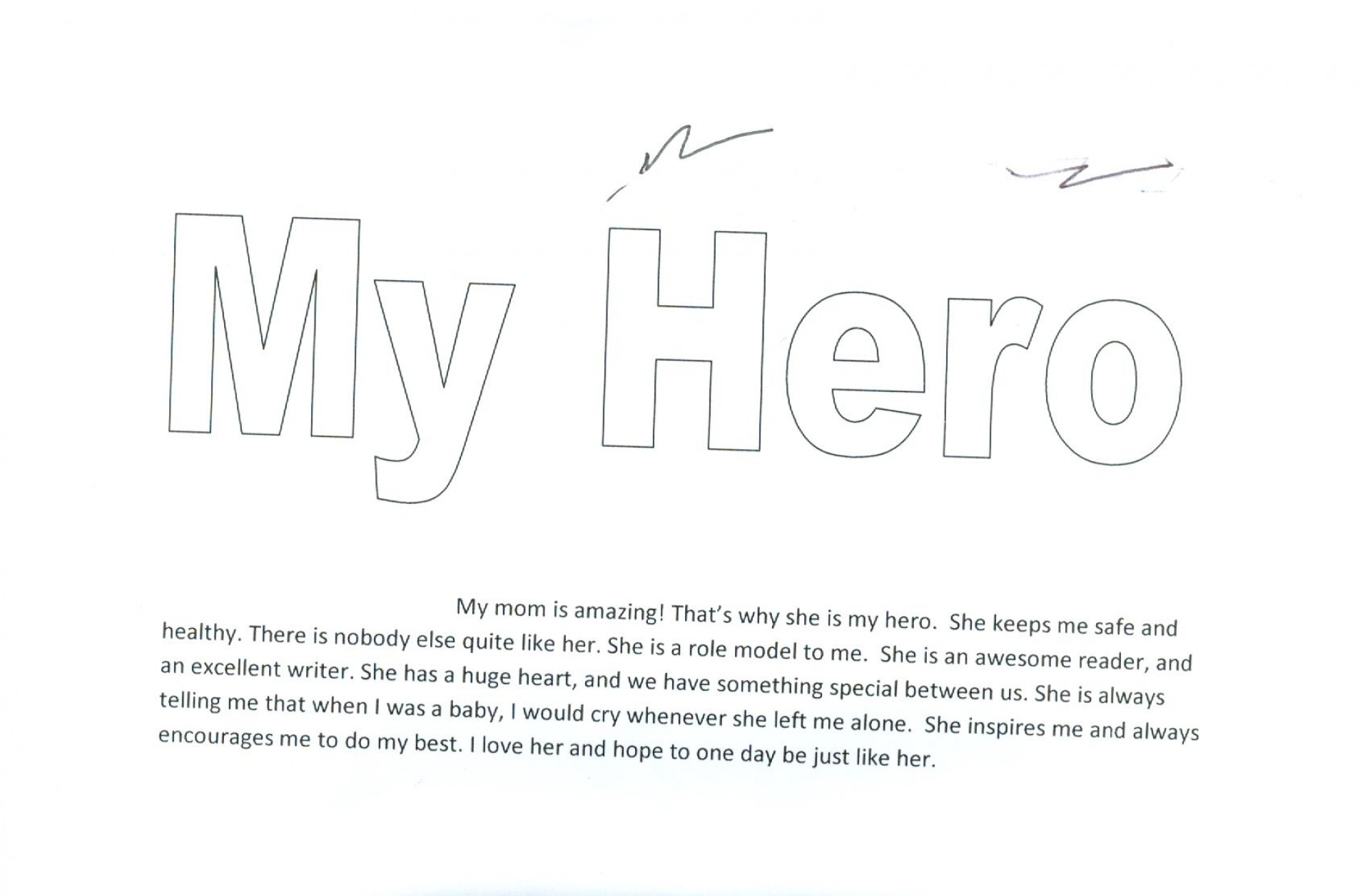 011 Hero Essay Audiehero My Is About Superhero In Hindi Father Inspiration Why On Short Favorite Unusual Parents 1920