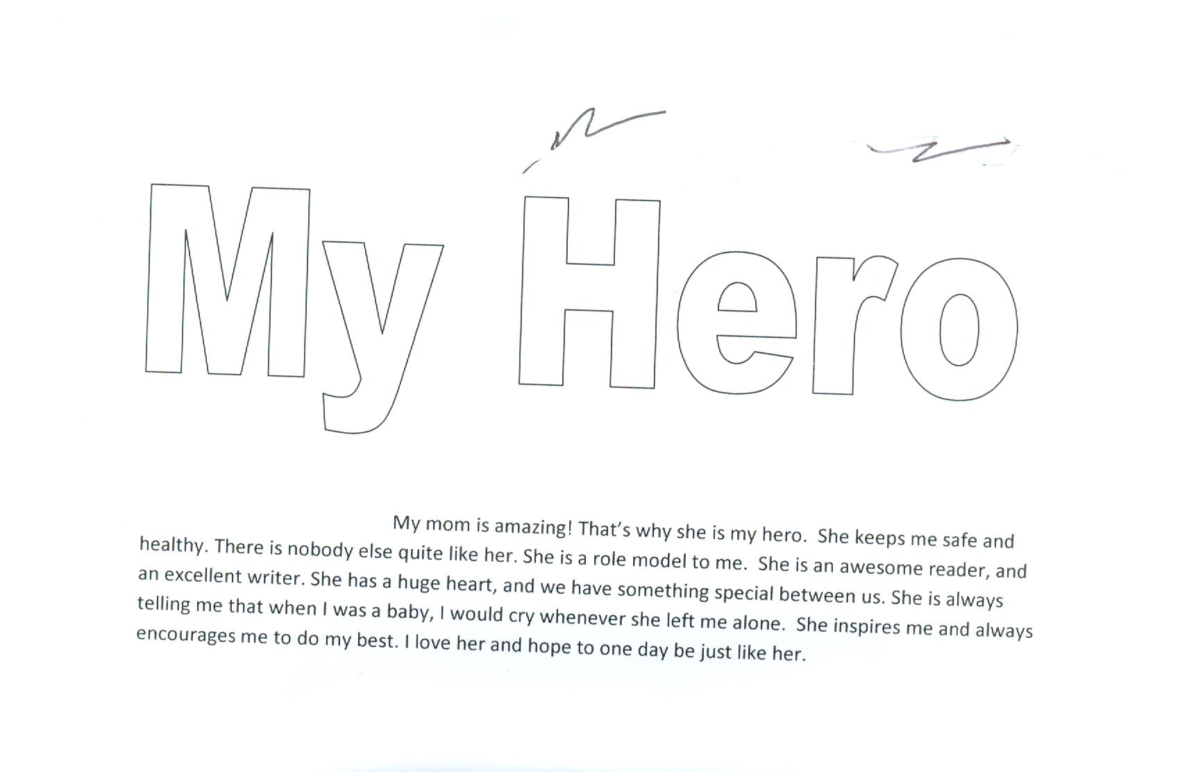 011 Hero Essay Audiehero My Is About Superhero In Hindi Father Inspiration Why On Short Favorite Unusual Parents Full