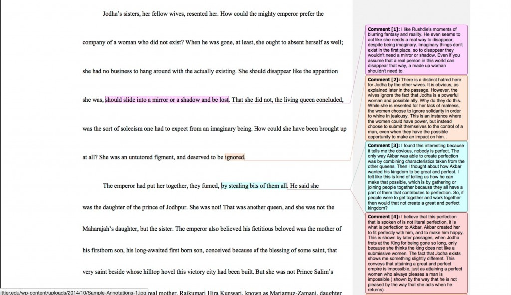 011 How To Annotate An Essay Annotation Google Docs Wondrous A Movie In Critical Large