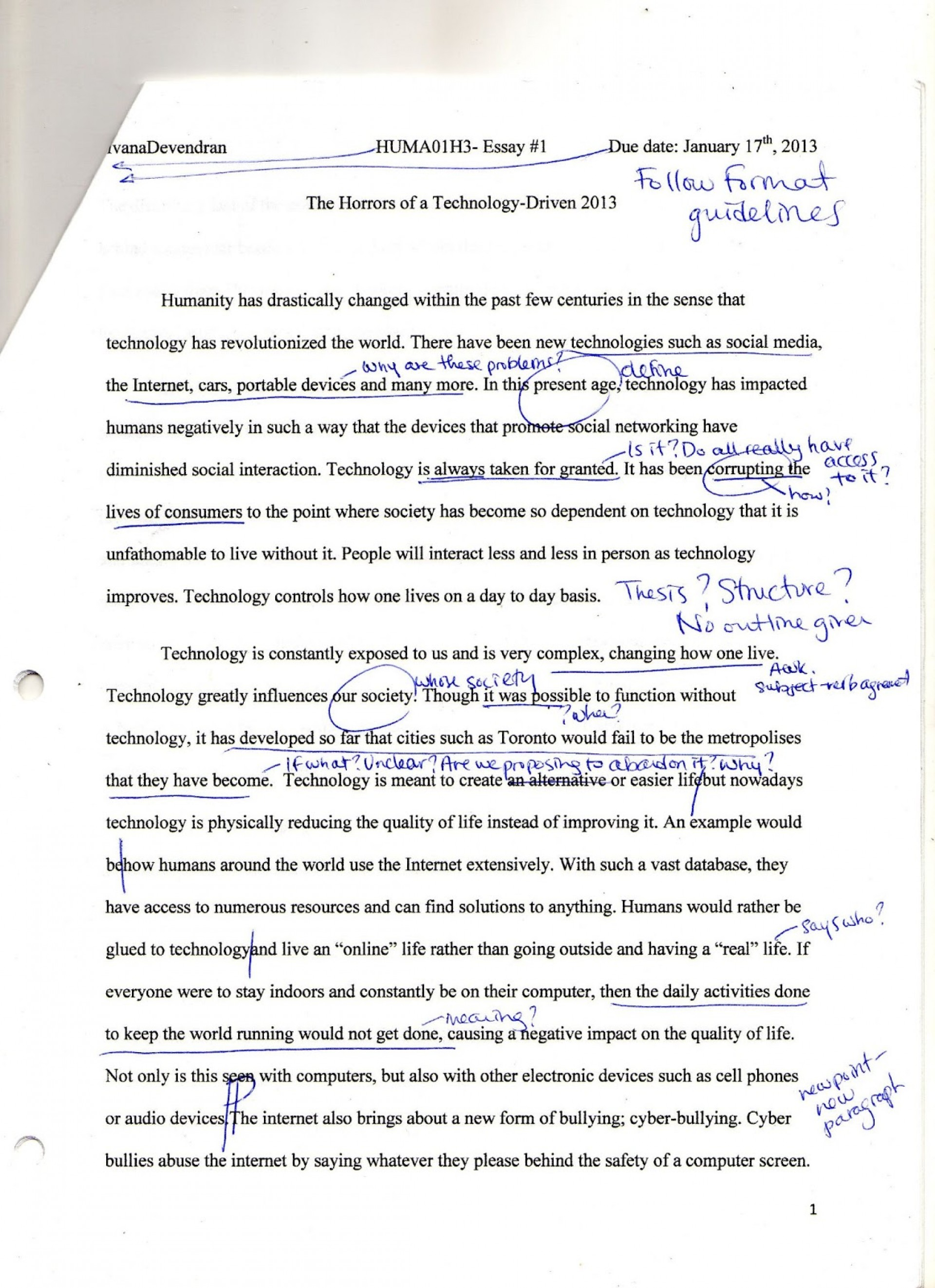 011 Img008 Essay Example How Technology Has Changed Our Awesome Lives Pdf On For The Worst 1920