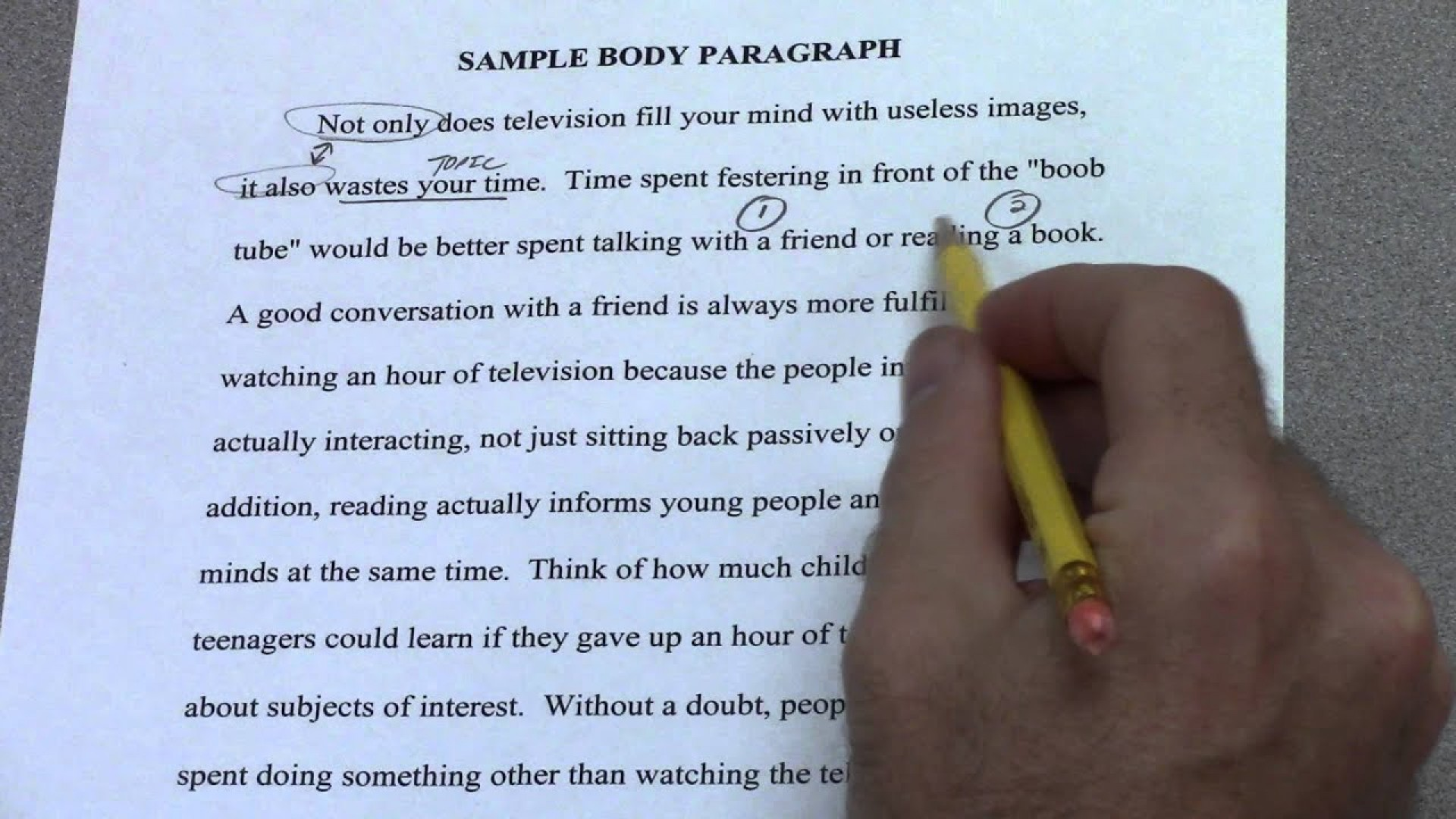 011 Maxresdefault Essay Body Paragraph Impressive Persuasive Example Topic Sentence Transition Words 1920