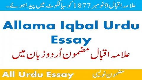 011 Maxresdefault Essay Example Urdu Allama Dreaded Iqbal On In For Class 10 With Poetry Ka Shaheen Headings And 480