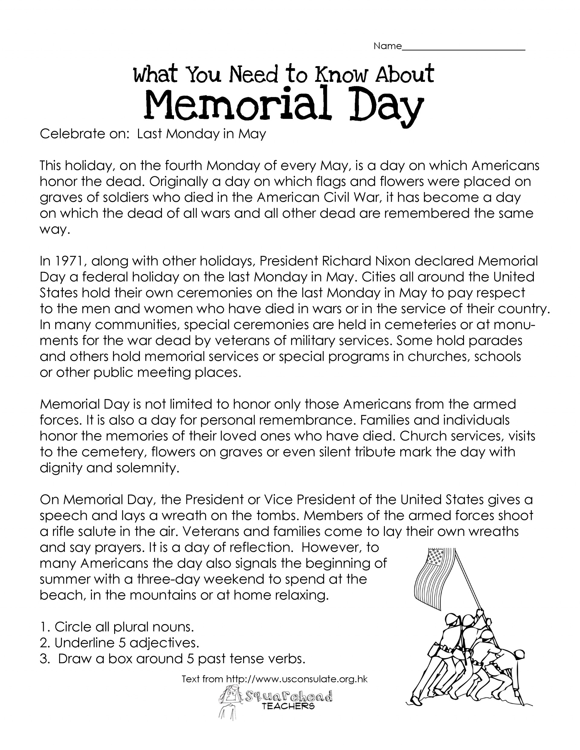 011 Memorial1 Essay Example Veterans Best Day Writing Prompts Elementary Contest Ideas 1920