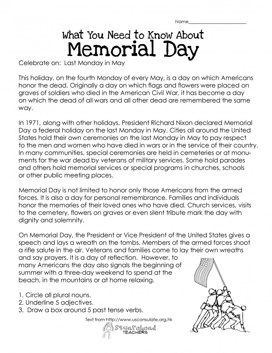 011 Memorial1 Essay Example Veterans Best Day Writing Prompts Middle School Contest Ideas