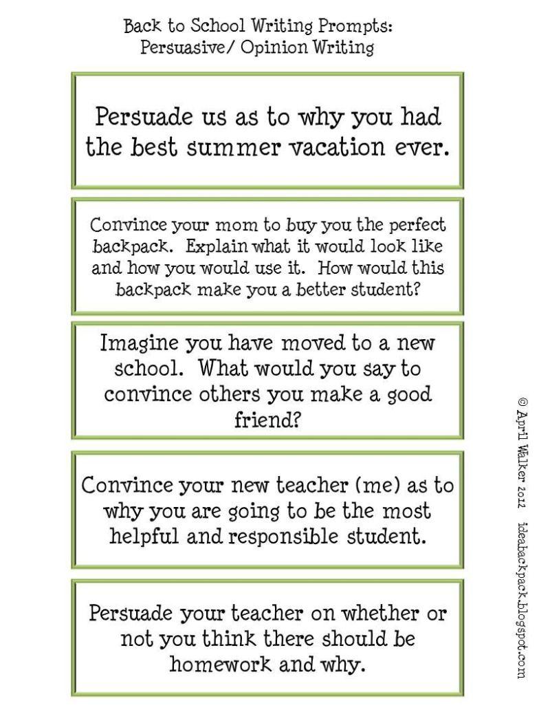 narrative essay examples for high school
