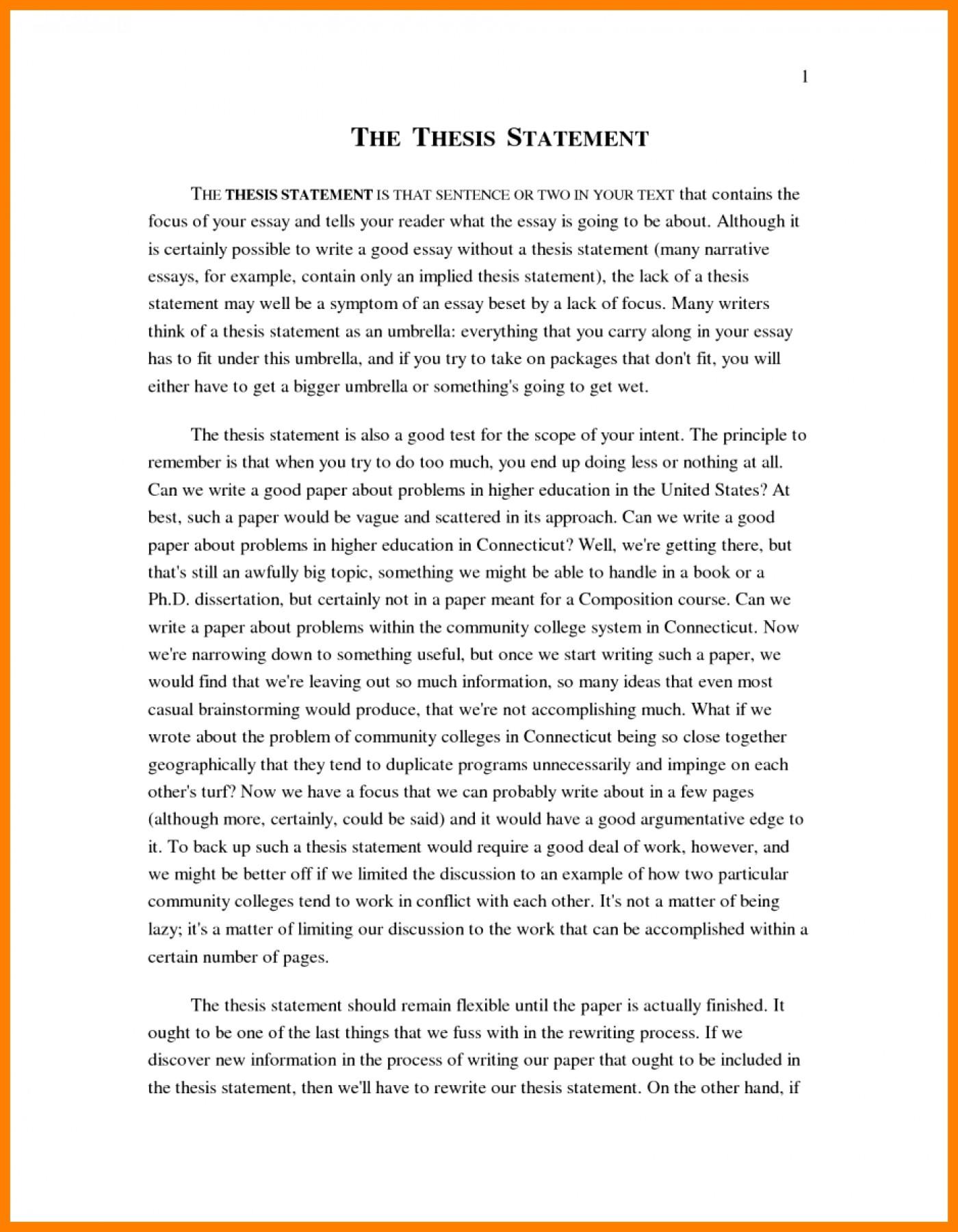 011 Narrative Example Essay High School Personal Examp Examples Short Unique Pdf 1400