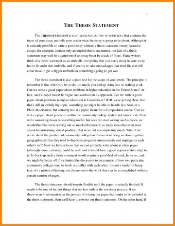 011 Narrative Example Essay High School Personal Examp Examples Short Unique Pdf 360
