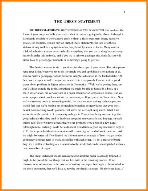011 Narrative Example Essay High School Personal Examp Examples Short Unique Pdf 480
