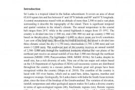 011 Natural Resources In Sri Lanka Essay Example Fantastic