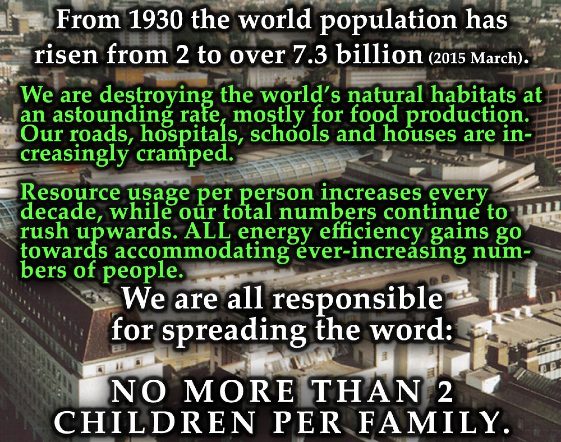 011 No More Than 2 Children Per Family Cause And Effect Of Overpopulation Essay Remarkable 1920