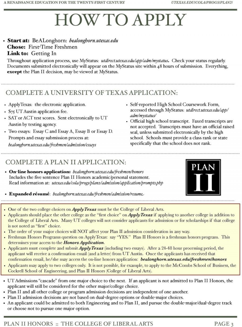 011 Page New Apply Texas Essays Topics Archaicawful Essay Application Fall 2018 Prompt C Example Large