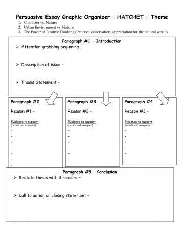 011 Paragraph Essay Outline Graphic Organizer Printables Corner Argumentative Writings And Essays W Structure Five Wonderful High School Definition 5 Pdf 360