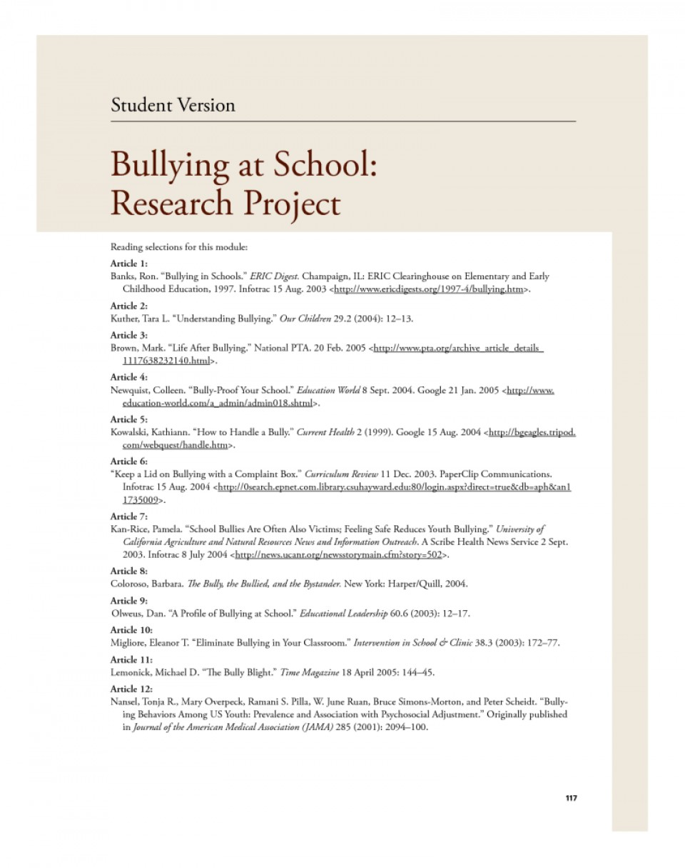 011 Persuasive Essay On Bullying Example Dreaded Argumentative Topics In Schools Examples Cyberbullying 960