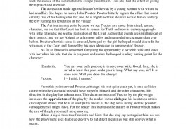 011 Thecrucible Keysceneexemplaressay Phpapp01 Thumbnail Essay Example The Crucible Shocking Topics Topic Sentences Analytical Writing Prompts