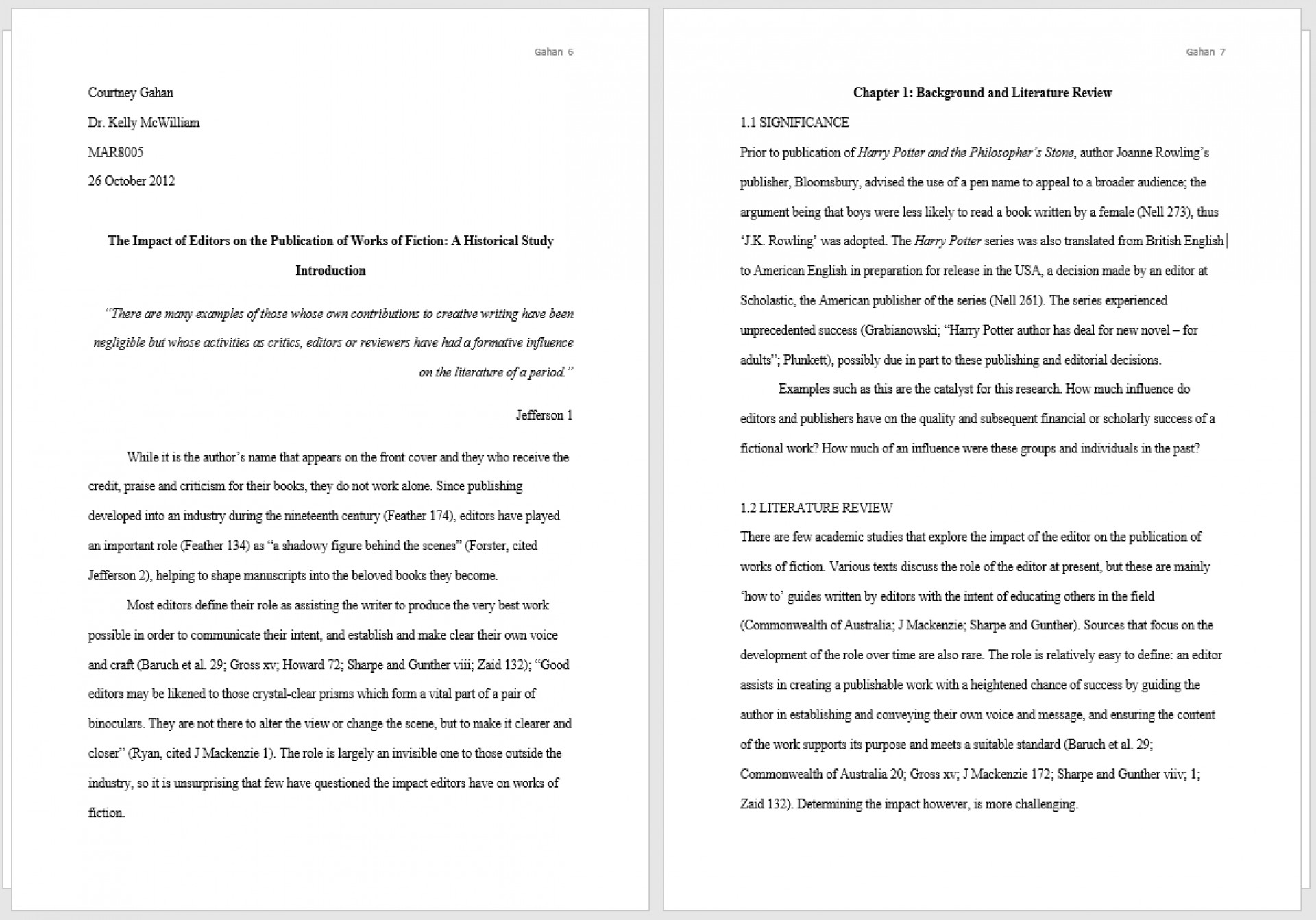 011 Thesis Two Pages Example Full Mla Magnificent Essay Format 2018 Template Cite In Anthology 1920