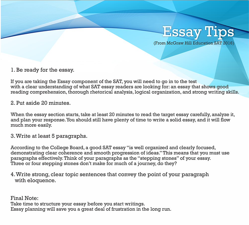 011 Tips On Sat Essay3 Essay Example Dreaded Time With Breaks Length Limit Full