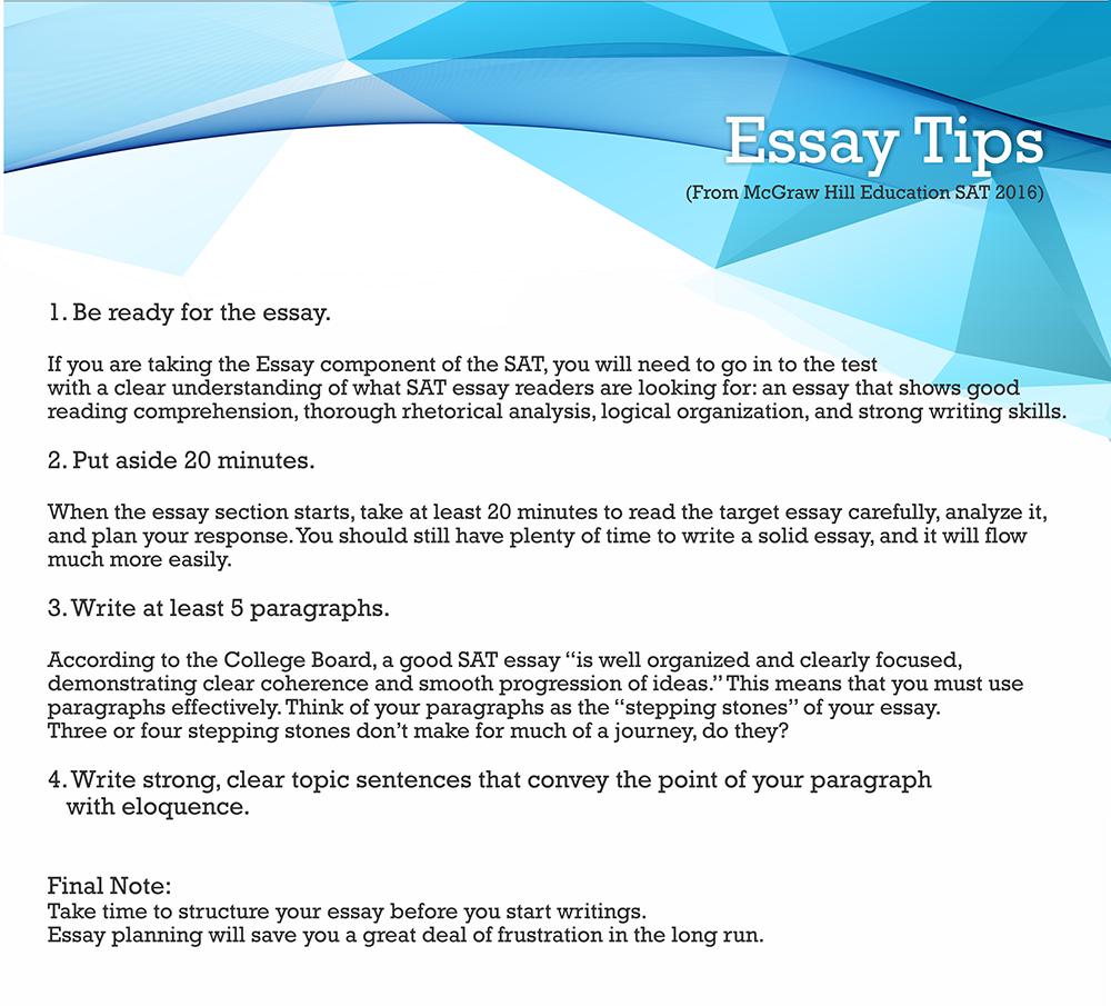 011 Tips On Sat Essay3 Essay Example Dreaded Time Limit Breakdown Full