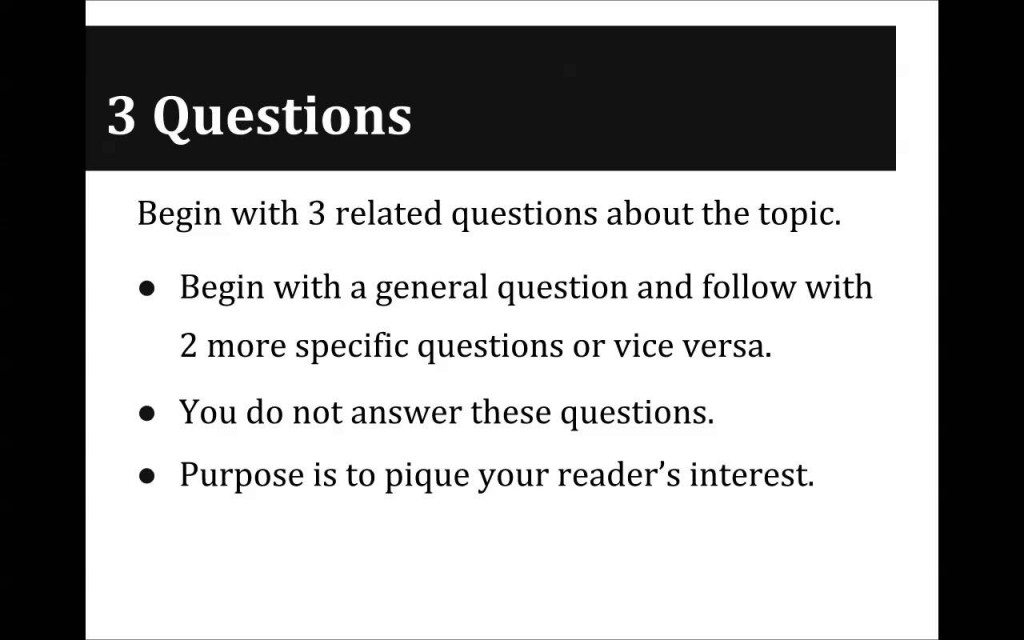011 What Is Good Hook For An Essay Example Hooks Examples By Great Persuasive Maxresde Writing On School Dreaded A Whats About Technology Animal Farm Large