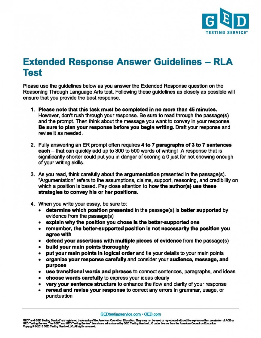 011 Writing Ged Essay Practice Test Extended Response Guide Awful Online For Upsc Topics Exercises