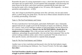 012 008038855 1 Fast Food Essay Stunning Research Paper Example Argumentative Topics