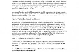 012 008038855 1 Fast Food Essay Stunning Topics Argumentative Introduction Titles