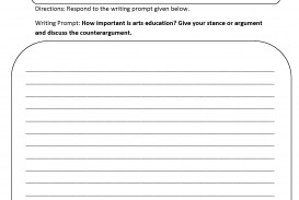 012 8th Grade Essay Topics Example Arts Education Argumentative Writing Prompts Phenomenal Narrative Us History Questions 320