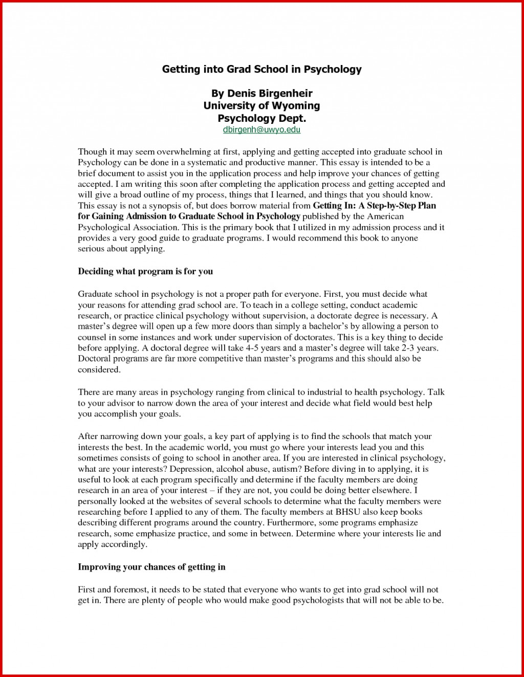 012 Academic Writingmple For Graduate School Unique The Essay Icse Essays If I Were Principal Of Example Frightening Sample Physical Therapy Diversity Examples Biology Large