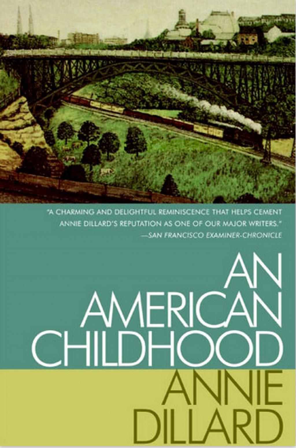 012 Annie Dillard An American Childhood Essays Essay Stirring Stunt Pilot Pdf Large
